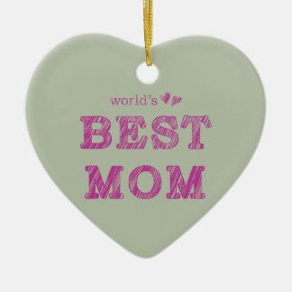 Die beste Mamma der Welt Keramik Ornament