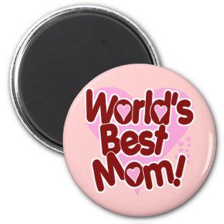 Die beste Mamma der Welt Runder Magnet 5,7 Cm