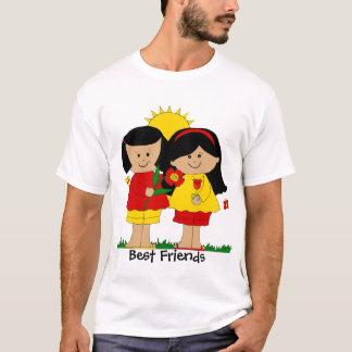 Die besten Freunde des T - Shirt-Kindes zwei T-Shirt