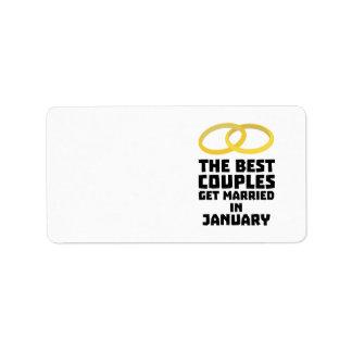 Die besten Paare im Januar Z00xc Adressetiketten
