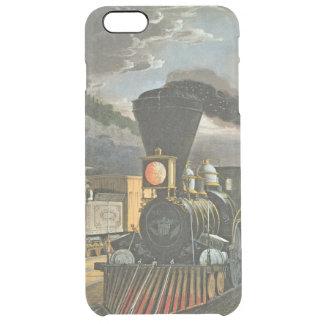 Die Blitz-Eilzüge, 1863 Durchsichtige iPhone 6 Plus Hülle