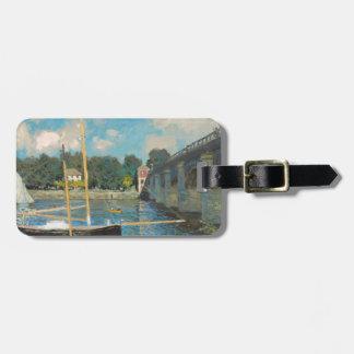 Die Brücke bei Argenteuil - Claude Monet Gepäckanhänger