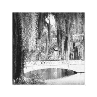 Die Brücke der Magnolie Leinwanddruck