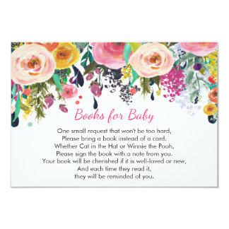 Die Bücher für Baby, mit Blumen holen einen Karte