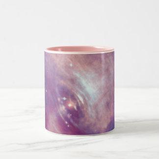 Die Chandra Krabben-Röntgenstrahl-Nebelfleck NASA Zweifarbige Tasse