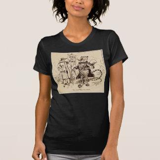 Die Dame und der Tiger durch Clifford K. Berryman T-Shirt