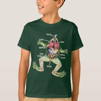 Die Die Anatomie-Illustration des Frosches T-Shirt