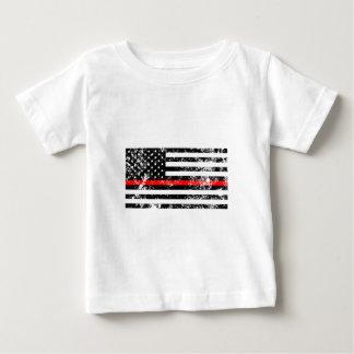 Die dünne rote Linie Baby T-shirt