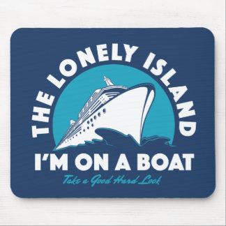 Die einsame Insel - nehmen Sie einen Blick Mauspad