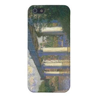 Die Eisenbahnbrücke in Argenteuil (1874) Hülle Fürs iPhone 5