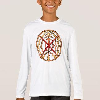 Die Elementestammes- Sun-Shirt des gebürtiges T-Shirt