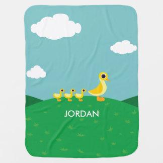 Die Enten-Familie Babydecke