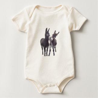 """Die Esel-"""" Säuglings-Strampler """"des Mädchens Baby Strampler"""