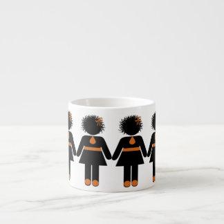 Die Espresso-Leute W-Milch Schokolade Espresso-Tasse