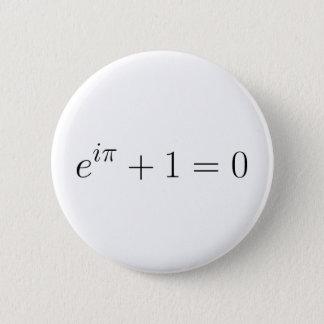 Die Euler Formel Runder Button 5,7 Cm