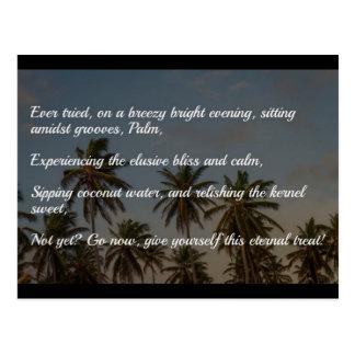 Die ewige Leckerei… Postkarte