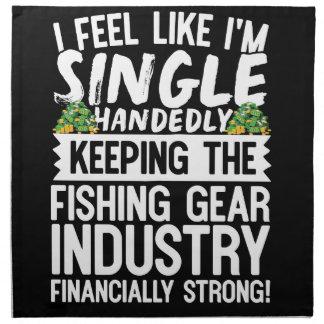 Die Fischindustrie finanziell stark behalten Serviette