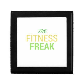 Die Fitness Freak-Zitrone Schmuckschachtel