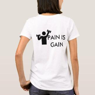 Die Fitness-T-Stück der Frauen T-Shirt