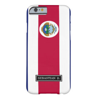 Die Flagge der Costa Rican Barely There iPhone 6 Hülle