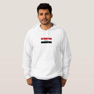 Die Flagge der Männer von der IrakHoodie Hoodie