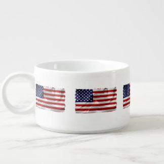 Die Flagge des USA Kleine Suppentasse