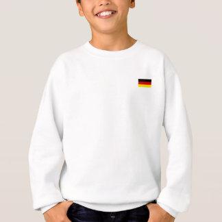 Die Flagge von Deutschland Sweatshirt
