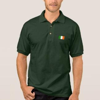 Die Flagge von Irland Polo Shirt