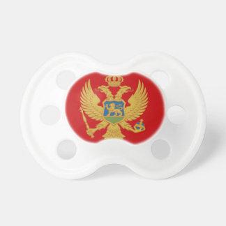 Die Flagge von Montenegro Schnuller