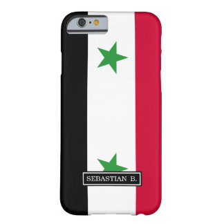 Die Flagge von Syrien Barely There iPhone 6 Hülle