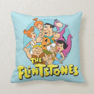 Die Flintstones und die Schutt-Familien-Grafik Kissen