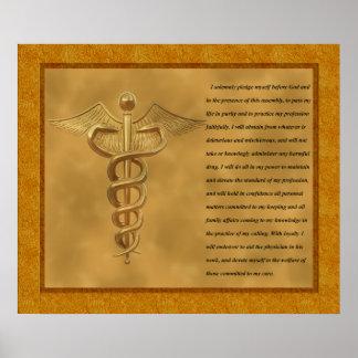 Die Florence Nightingale-Bürgschaft Poster