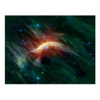 Die Galaxie Postkarte