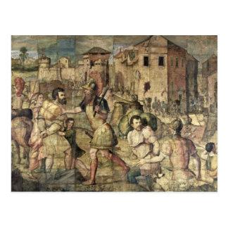 Die Gefangenen Postkarte