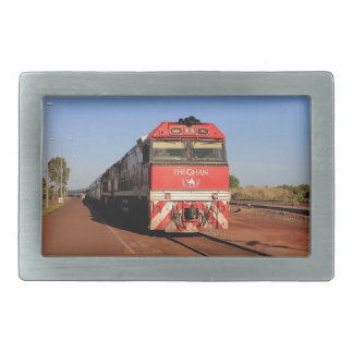 Die Ghan Zuglokomotive, Darwin Rechteckige Gürtelschnallen