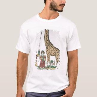 Die Giraffe dargestellt König vom Pasha von T-Shirt
