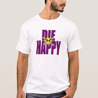 die glückliches T-Shirt