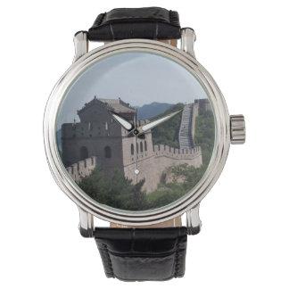 Die große Wand von Chinaandenken keychain Armbanduhr