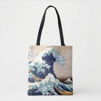 Die große Welle weg von Kanagawa