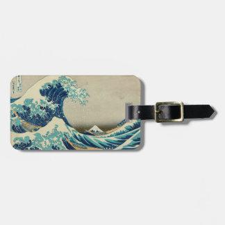 Die große Welle weg von Kanagawa Kofferanhänger
