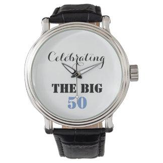 Die GROSSEN 50 feiern - Armbanduhr