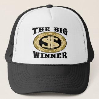 Die großen Sieger-T - Shirts und die Geschenke Truckerkappe
