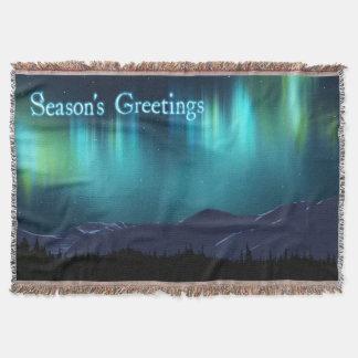 Die Grüße der Jahreszeit - Aurora Borealis Decke
