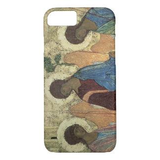 Die Heilige Dreifaltigkeit, 1420s (Tempera auf iPhone 8/7 Hülle