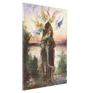 Die heilige Elepant Malerei (1882) Galerie Falt Leinwand