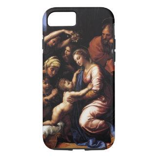 Die heilige Familie durch RAPHAEL iPhone 8/7 Hülle