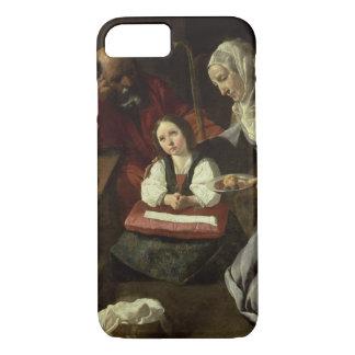 Die heilige Familie (Öl auf Leinwand) (für Details iPhone 8/7 Hülle