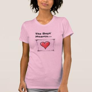 Die Herzen der Jungen… T-Shirt
