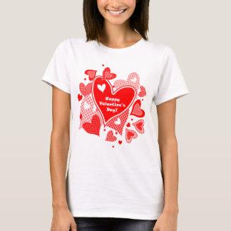 Die Herzen des Valentinsgrußes T-Shirt