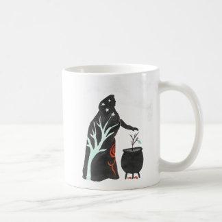 Die Hexe und ihr großer Kessel Kaffeetasse